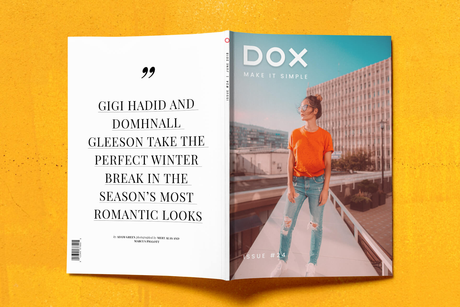 Dox Magazine - Back